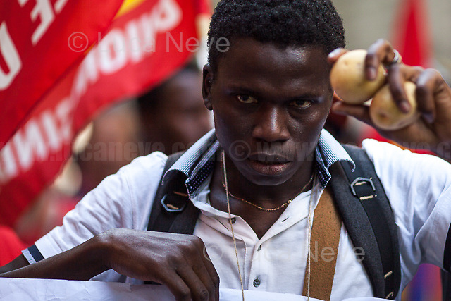 Unknown, Agriculture Worker - Bracciante Agricolo.<br />