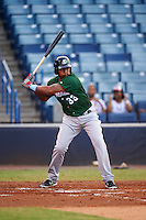 Daytona Tortugas designated hitter Yorman Rodriguez (33) at bat during a game against the Tampa Yankees on August 5, 2016 at George M. Steinbrenner Field in Tampa, Florida.  Tampa defeated Daytona 7-1.  (Mike Janes/Four Seam Images)