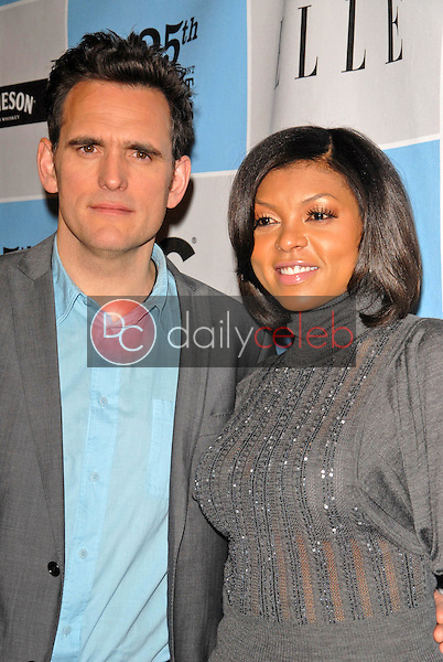 Matt Dillon and Taraji P. Henson<br />