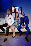 MIAMI BEACH, FL - JUNE 18:Christopher Leavitt, Samantha DeBianchi and Chad Carroll attends Million Dollar Listing Miami Season One VIP Premiere Party at Nikki Beach on June 18, 2014 in Miami Beach, Florida. (Photo by Johnny Louis/jlnphotography.com)