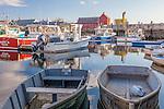 Morning on Rockport Harbor, Rockport, Massachusetts, USA