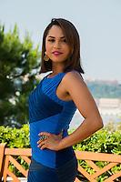 Monica Raymunds attends Photocall - 54th Monte-Carlo TV Festival - Monaco