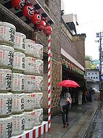 Pontocho Kaburenjo Theater where many of Kyoto's Geisha and Maiko practice. They perform here twice per year.