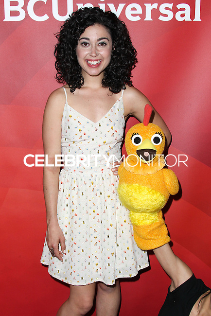 PASADENA, CA, USA - APRIL 08: Carly Ciarrocchi, Chica at the NBCUniversal Summer Press Day 2014 held at The Langham Huntington Hotel and Spa on April 8, 2014 in Pasadena, California, United States. (Photo by Xavier Collin/Celebrity Monitor)