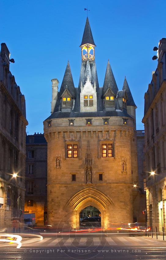 Porte Cailhau. Bordeaux city, Aquitaine, Gironde, France