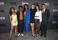 BEVERLY HILLS, CA - AUGUST 4: Nicole Kang, Camrus Johnson, Meagan Tandy, Rachel Skarsten, Elizabeth Anweis, Dougray Scott, at The CW's Summer TCA All-Star Party at The Beverly Hilton Hotel in Beverly Hills, California on August 4, 2019. <br /> CAP/MPI/FS<br /> ©FS/MPI/Capital Pictures