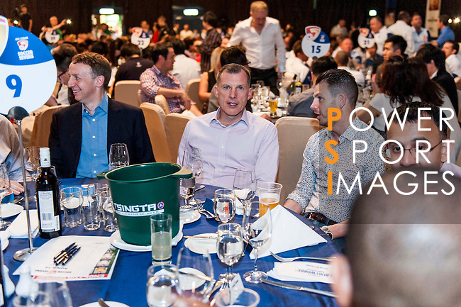 Sportsman's dinner ahead of the HKFC Citibank Soccer Sevens 2014 on May 22, 2014 at the Hong Kong Football Club in Hong Kong, China. Photo by Xaume Olleros / Power Sport Images