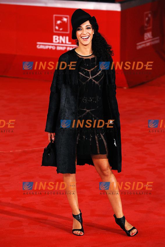 Astrid MELONI.Roma 28/10/2011 Auditorium.Festival Internazionale del Film di Roma.Foto Andrea Staccioli Insidefoto