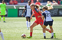 Portland, OR - Saturday September 02, 2017: Lindsey Horan during a regular season National Women's Soccer League (NWSL) match between the Portland Thorns FC and the Washington Spirit at Providence Park.