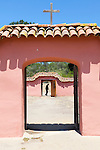 La Purisima Mission in Lompoc, California.  Mision La Purisima Concepcion de Maria Santisima was founded on December 8, 1787 by Franciscan Padre Presidente Fermin Francisco Lasuen. La Purisima was the eleventh mission of the twenty-one Spanish Missions established in what later became the state of California.