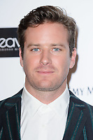 Armie Hammer<br /> arriving for the Critic's Circle Film Awards 2018, Mayfair Hotel, London<br /> <br /> <br /> ©Ash Knotek  D3374  28/01/2018