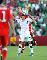 .Action photo of Paul Arriola of USA, during game of the FIFA Under 17 World Cup game, held at  Torreon.
