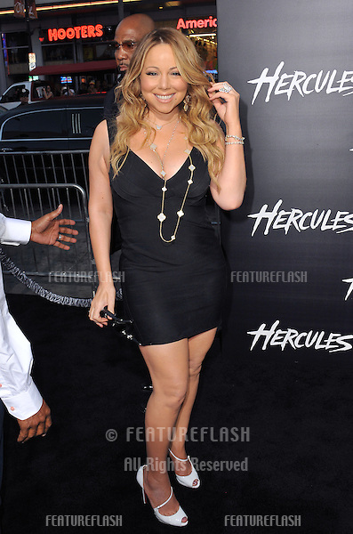 Mariah Carey at the premiere of &quot;Hercules&quot; at the TCL Chinese Theatre, Hollywood.<br /> July 23, 2014  Los Angeles, CA<br /> Picture: Paul Smith / Featureflash