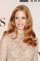 Jessica Chastain at the 66th Annual Tony Awards at The Beacon Theatre on June 10, 2012 in New York City. Credit: RW/MediaPunch Inc.