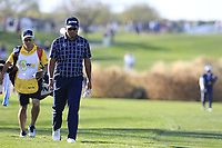 Hideki Matsuyama (JPN) on the 15th fairway during the 1st round of the Waste Management Phoenix Open, TPC Scottsdale, Scottsdale, Arisona, USA. 31/01/2019.<br /> Picture Fran Caffrey / Golffile.ie<br /> <br /> All photo usage must carry mandatory copyright credit (&copy; Golffile | Fran Caffrey)