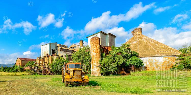 The old Koloa Sugar Mill, Koloa, Kaua'i.