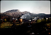 View south of RR yards at Durango.<br /> D&amp;RGW  Durango, CO