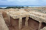 Gräber der Könige, Graeber der Koenige, Tombs of the kings, Paphos, Pafos, Cyprus, Zypern.