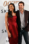 Actress Naomie Harris and Spanish actor Javier Bardem attend 'Skyfall' photocall on October 29, 2012 in Madrid, Spain. .(ALTERPHOTOS/Harry S. Stamper)