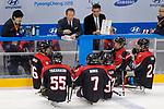 Kojin Nakakita (JPN), <br /> MARCH 13, 2018 - Para Ice Hockey : <br /> Qualification round between Czech Republic 3-0 Japan <br /> at Gangneung Hockey Centre during the PyeongChang 2018 Paralympics Winter Games in Pyeongchang, South Korea. <br /> (Photo by Yusuke Nakanishi/AFLO)