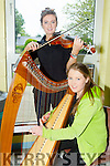 Susie De Ris and Emer Quinlan from Lixnaw CCE at the at the FLEADH CHEOIL CHIARRAÍ in IT South Campus on Sunday