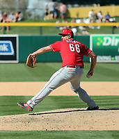Joel Kuhnel - Cincinnati Reds 2020 spring training (Bill Mitchell)