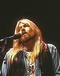 INGLEWOOD, CA - MAY 15: Gregg Allman live in concert with the Allman Brothers Band at The Forum on May 15, 1979 in Inglewood, California.