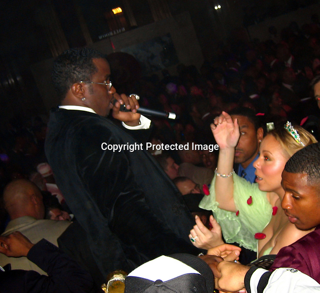 Sean P. Diddy Combs &amp; Mariah Carey<br />