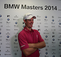 Justin Rose (ENG) shoots a round of 65 at the end of Friday's Round 2 of the 2014 BMW Masters held at Lake Malaren, Shanghai, China 31st October 2014.<br /> Picture: Eoin Clarke www.golffile.ie