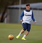 26.10.18 Rangers training: Glenn Middleton
