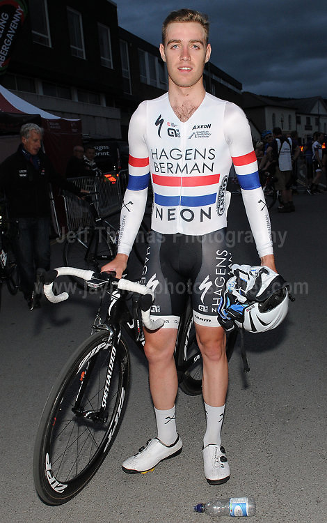 The 2017 Abergavenny Festival of Cycling on Friday 7th July 2017 - <br /> <br /> Race winner Christopher Lawless of the Axeon Hagens Berman CT racing team<br /> <br /> <br /> Jeff Thomas Photography<br /> www.jaypics.photoshelter.com<br /> e-mail swansea1001@hotmail.co.uk<br /> Mob: 07837 386244