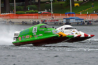 Jason Nelson, (#18) and Jeff Zeller, (#96) (SST-45 class)