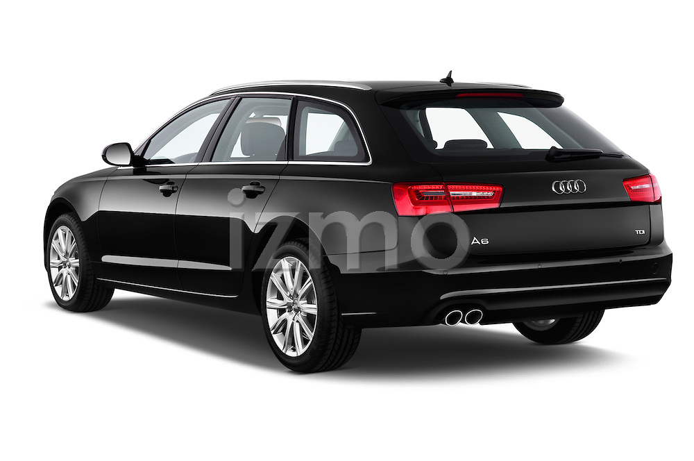 Rear three quarter view of a 2014 Audi A6 AVUS 5 Door Wagon 2WD