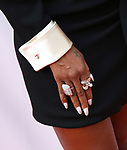 Mary J Blige, shoe fashion detail, attends the 'Mudbound' premiere during the 2017 Toronto International Film Festival at Roy Thomson Hall on September 12, 2017 in Toronto, Canada.