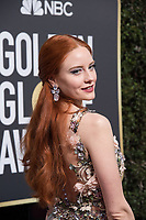 Model Barbara Meier attends the 75th Annual Golden Globes Awards at the Beverly Hilton in Beverly Hills, CA on Sunday, January 7, 2018.<br /> *Editorial Use Only*<br /> CAP/PLF/HFPA<br /> &copy;HFPA/PLF/Capital Pictures
