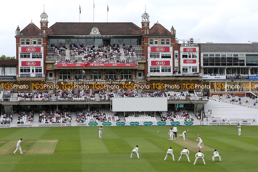 General view of the Pavillon at The Oval during Surrey CCC vs Kent CCC, Specsavers County Championship Division 1 Cricket at the Kia Oval on 7th July 2019