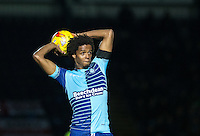 Sido Jombati of Wycombe Wanderers during the The Checkatrade Trophy Southern Group D match between Wycombe Wanderers and Coventry City at Adams Park, High Wycombe, England on 9 November 2016. Photo by Andy Rowland.
