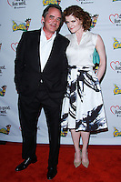 "WESTWOOD, LOS ANGELES, CA, USA - JUNE 21: Tom Irwin, Rebecca Wisocky at the Los Angeles Premiere Of ""La Golda"" held at The Crest on June 21, 2014 in Westwood, Los Angeles, California, United States. (Photo by David Acosta/Celebrity Monitor)"