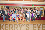Murt and Bernie O'Shea, Kilbrean, Killarney and Ann Coffey, Fossa, Killarney, pictured with family and friends as they celebrated their 40th birthdays in the Killarney Avenue hotel on Saturday night.