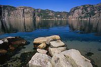 Lysefjorden, Rogaland, Norway, 2008