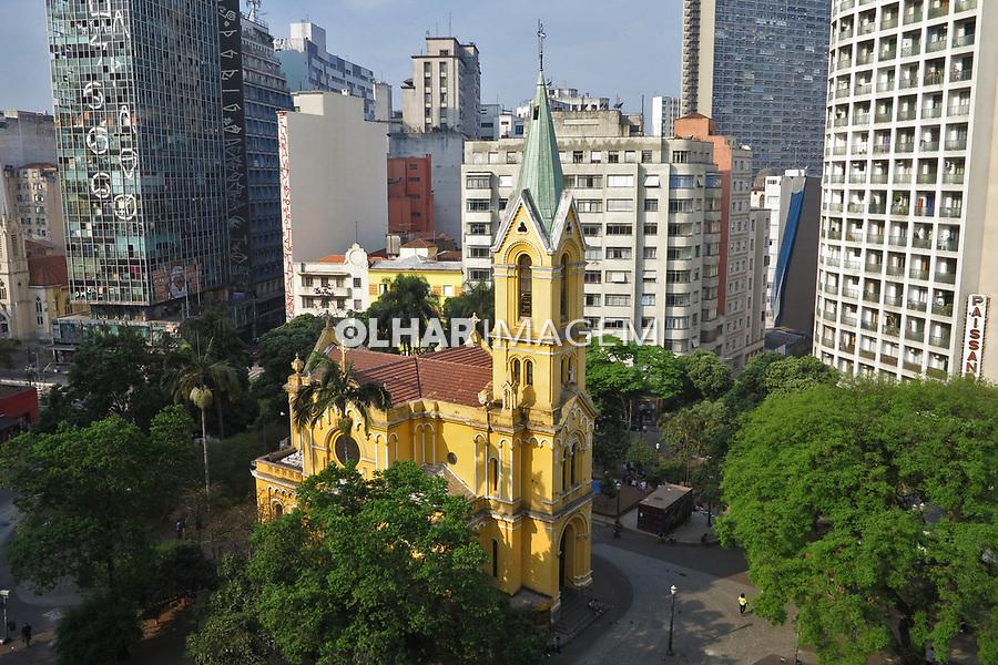 Igreja Nossa Senhora do Rosario dos Homens Pretos, Largo Paissandu, Sao Paulo. 2017. Foto de Marcia Minillo.