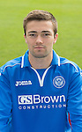 St Johnstone FC 2013-14<br /> Gwion Edwards<br /> Picture by Graeme Hart.<br /> Copyright Perthshire Picture Agency<br /> Tel: 01738 623350  Mobile: 07990 594431