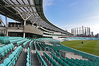 General view of the ground ahead of Surrey CCC vs Essex CCC, Specsavers County Championship Division 1 Cricket at the Kia Oval on 12th April 2019