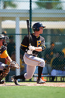 Pittsburgh Pirates Garrett Brown (10) during an Instructional League Intrasquad Black & Gold game on September 21, 2016 at Pirate City in Bradenton, Florida.  (Mike Janes/Four Seam Images)