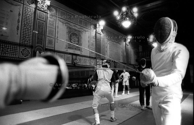 Scherma. Fencing