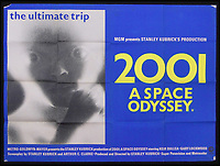 BNPS.co.uk (01202 558833)<br /> Pic: Burstow&amp;Hewett/BNPS<br /> <br /> 2001 A Space Odyssey poster.<br /> <br /> A late film buff's collection of 400 vintage movie posters has emerged for auction and is tipped to sell for &pound;15,000.<br /> <br /> The collection was amassed by a man who worked for several decades at the Marble Arch Odeon cinema in London which in its heyday was one of the capital's flagship cinemas.<br /> <br /> He sadly died a couple of years ago but bestowed the posters - which once were on display in the cinema - to a life-long friend who has decided to put them on the market.<br /> <br /> Many of the posters are from classic film franchises including Star Wars and James Bond as well as iconic Disney films such as Snow White and the Seven Dwarfs and Cinderella.