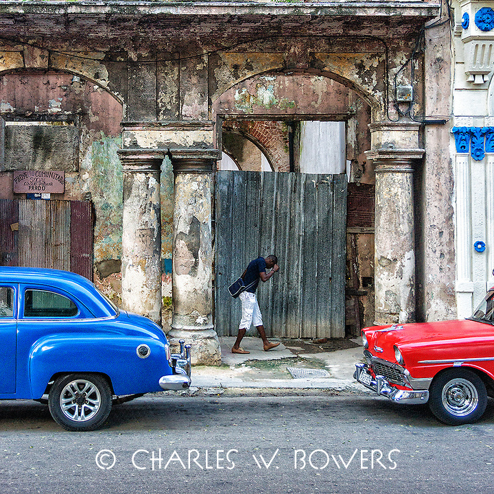 Faces Of Cuba - Love my red Chevy!<br />