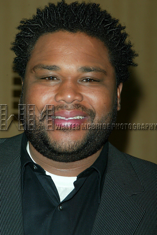 Anthony Anderson at the 2003 WB Network Upfront in New York City on May 13, 2003.© Walter McBride / .