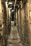 Israel, Jerusalem, the drainage tunnel from the Second Temple period at the City of David