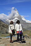 Switzerland, Matterhorn.  Kind of looks like the Eiffel Tower, don't it? Many landscape photographers feel walking a great distance makes their photo more worthwhile. Many classic shots are right from the parking lot, road or railroad station.<br />